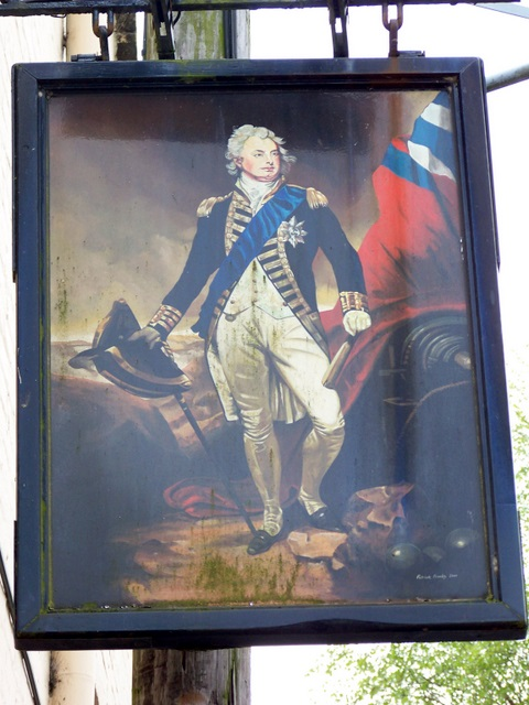 Sign for the King William IV