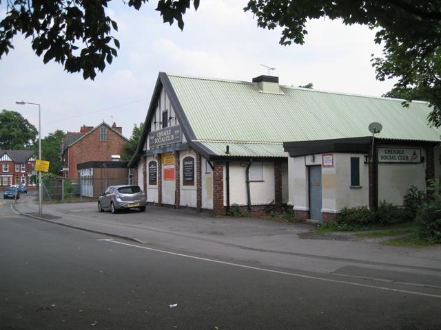 Cheadle Social Club, Ashfield Crescent
