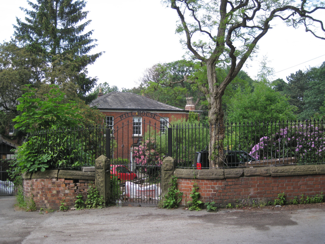 Gate to Mill House, Mill Lane, Cheadle