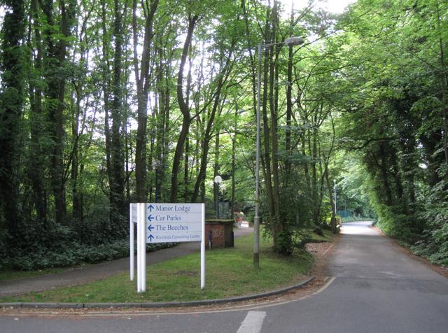 Mill Lane near Alexandra Hospital, Cheadle