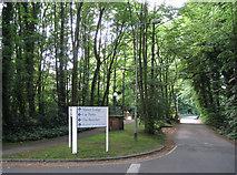 SJ8588 : Mill Lane near Alexandra Hospital, Cheadle by Robin Stott