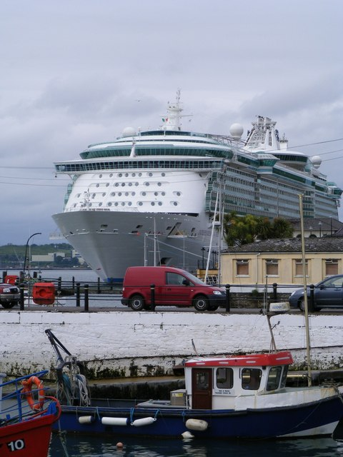 Independence of the Seas, Cobh
