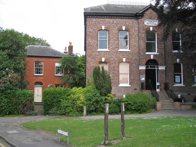 Cheadle Literary Institution by Manchester Road