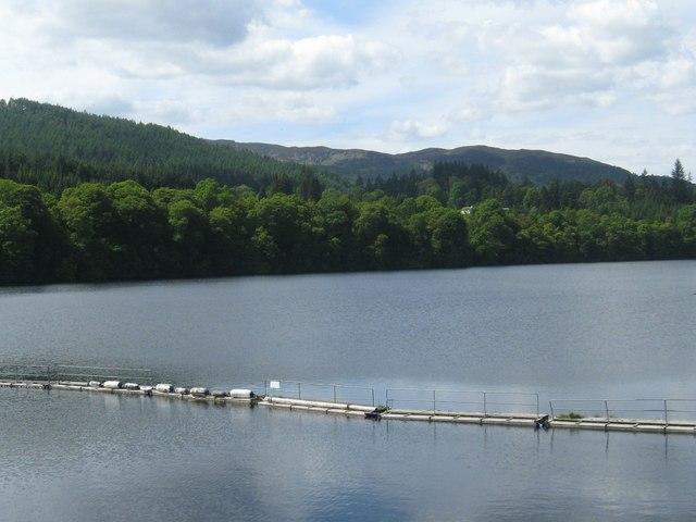 Loch Faskally from the dam