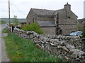 SD7992 : Dandry Mire house at Garsdale Head by Roger Templeman