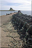NU1341 : Holy Island Harbour by Stephen McKay
