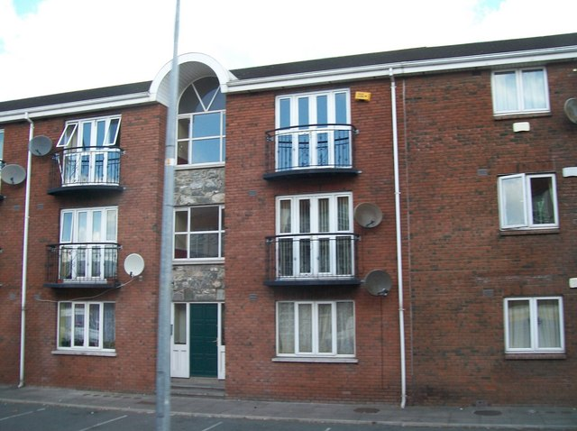 Apartment block in The Laurels