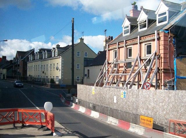 House refurbishing in Bridge Street, Dundalk