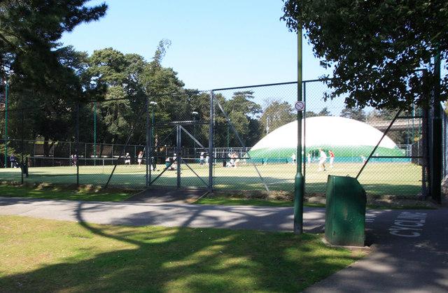 The Bournemouth Gardens Tennis Centre
