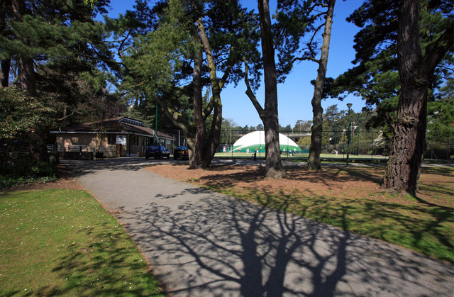 The Bournemouth Gardens Tennis Centre