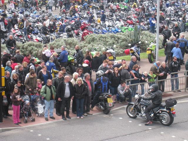 Crowds at Mayday Run