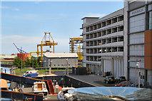 NT2677 : Ocean Terminal MS Car Park by David Dixon