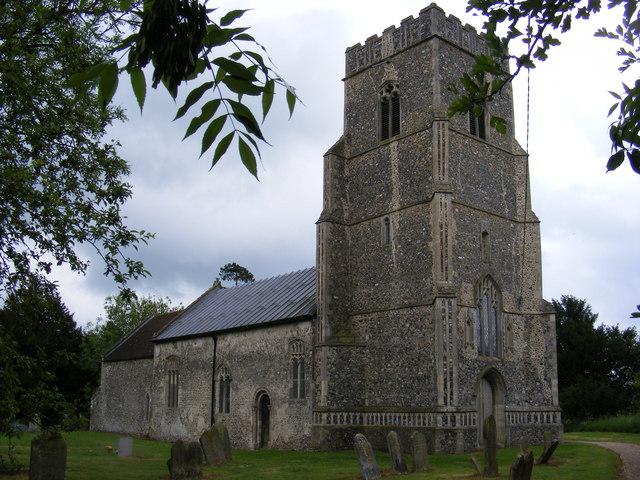 St. Nicholas Church, Bedfield