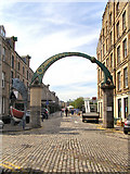 NT2676 : Entrance to Commercial Quay from Dock Place by David Dixon