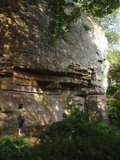 Main wall, Jackdaws' Scar, Kings Meaburn