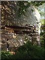 NY6121 : Main wall, Jackdaws' Scar, Kings Meaburn by Karl and Ali