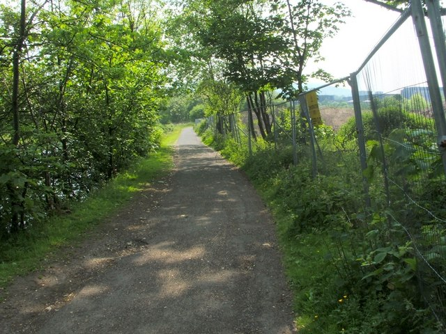Cycle Route 7 at Dalquhurn