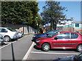 SP2871 : The Blundells footpath exit from Abbey End car park, Kenilworth by John Brightley