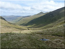 NN6240 : The upper part of the corrie of the Allt a' Chobhair by Richard Law