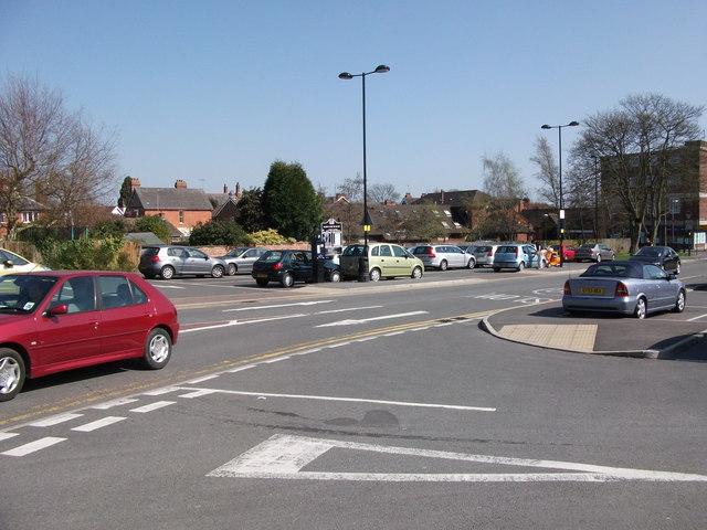 Abbey End car park, Kenilworth