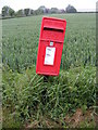 TM2976 : Cratfield Hall Postbox by Adrian Cable