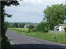 TQ0004 : Road near Ford Station by Malc McDonald
