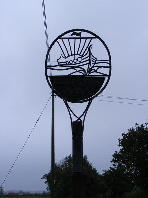 Ubbeston Village Sign
