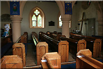 SK3030 : Pews in All Saints Church, Findern by Kate Jewell