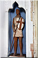 TL9059 : St George - Bradfield St George Church by Mike Baldwin
