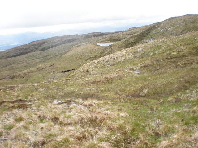Small Lochan high up Coire Daingean