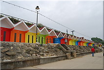 TA0390 : Beach Huts, North Bay by N Chadwick