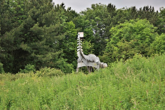 Steel Dinosaur, Teessaurus Park
