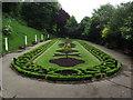 NZ6620 : Italian Gardens by Keith Evans