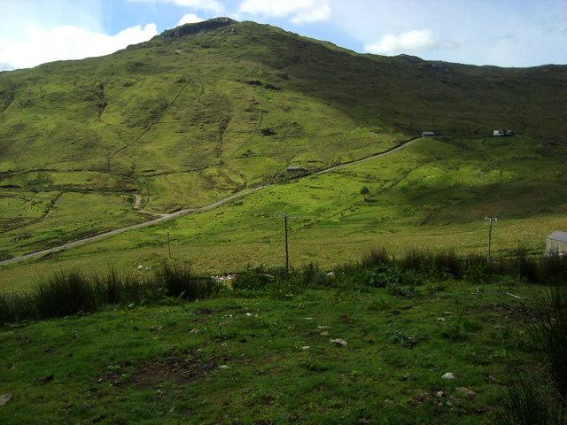 Eastern slope of Carnaween