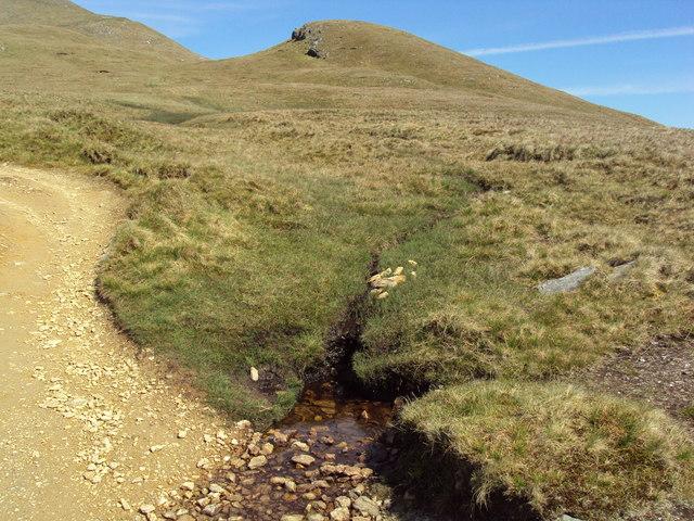 Small crag near Ben Lomond