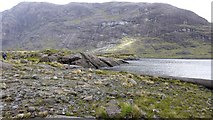 NG4820 : Coire Riabhach from the opposite shore of Loch Coruisk by Anthony O'Neil