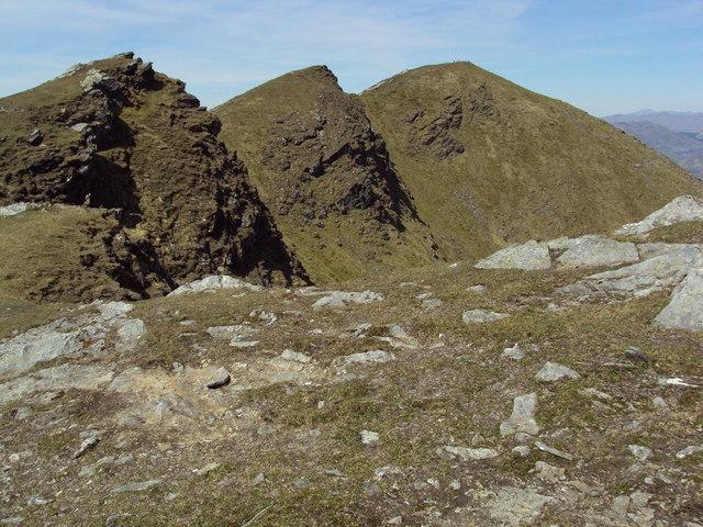 Ben Lomond summit and the arretes