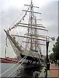 ST1974 : The Stavros S Niarchos, Roath Dock - Cardiff by Mick Lobb