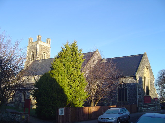 Kirkley St. Peter and St. John's church by Adrian S Pye