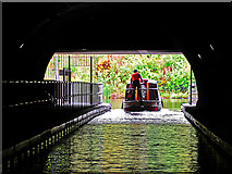 NS8579 : Rough Castle Canal Tunnel by Dr Richard Murray