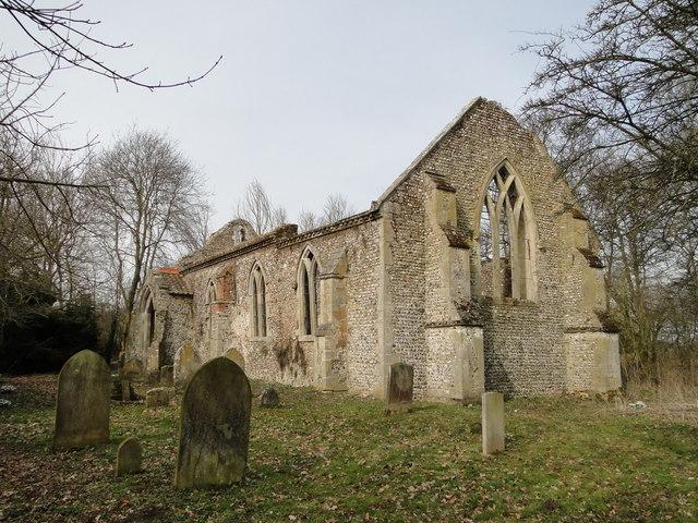 Oxwick All Saints church