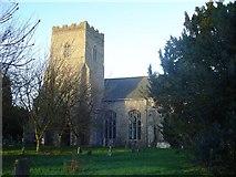 TM1469 : Thorndon All Saints church by Adrian S Pye