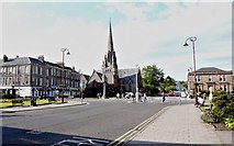 NS2982 : Colquhoun Square - central Helensburgh by Anthony O'Neil