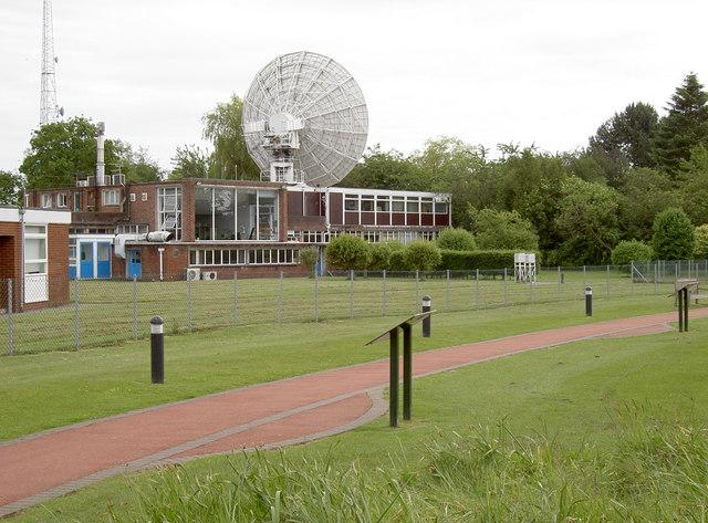 Smaller radio telescope