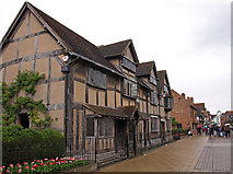 SP2055 : Shakespeare's birthplace, Stratford-Upon-Avon by wfmillar