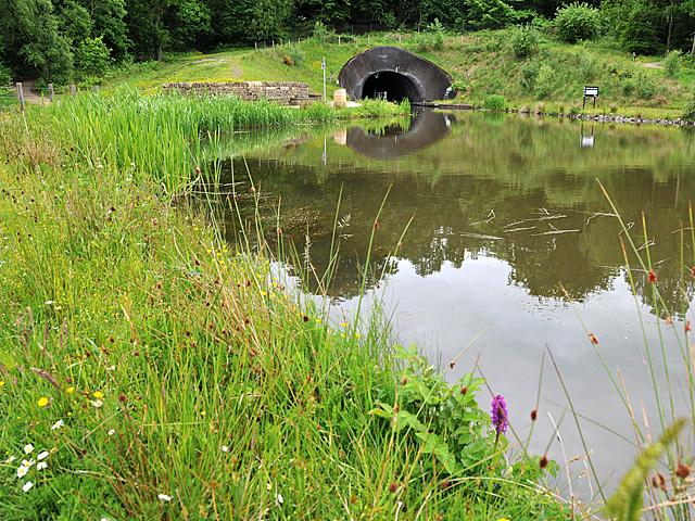 Canal Basin above the Falkirk Wheel