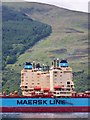 NS0875 : Maersk Boston Container Ship - Port Detail by James T M Towill