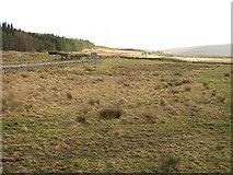 NC5709 : Wet grassland, Strath Tirry by Richard Webb