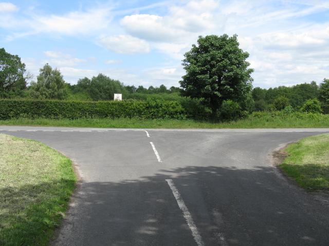 Smethwick Lane meets Moss Lane