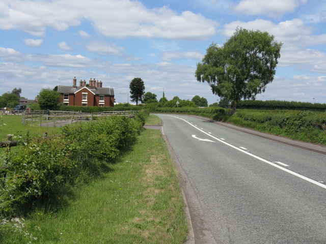 A54 at Moss Lane